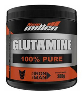 Glutamina 100% Pura - 300gr - New Millen