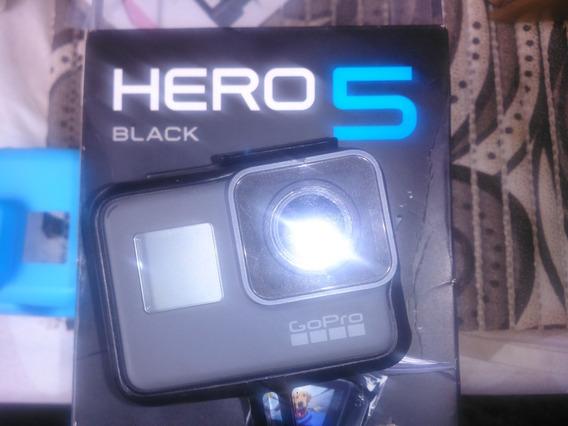 Gopro Hero 5 Black - 04k 30 Fps -com Todos Acessorios