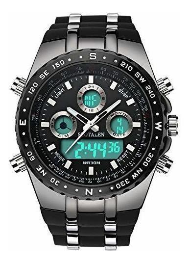 Relojes Deportivos Decentes Para Hombres Reloj Militar Mult