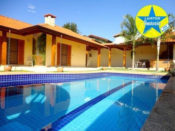 Bela Casa À Venda, 400 M² Por R$ 1.180.000 - Condomínio Fechado - Atibaia Sp - Ca1867
