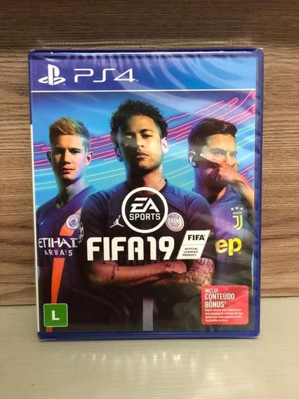Jogo Novo Mídia Física Fifa 19 Ea Sports Para Playstation 4