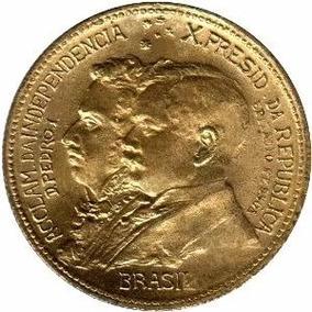Rara Moeda De 1822 1922 De 500 Reis 1 Centenário Da Indepenc