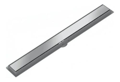 Imagen 1 de 6 de Rejilla Lineal Acero Inoxidable 50cm Tigre Desague Moderno