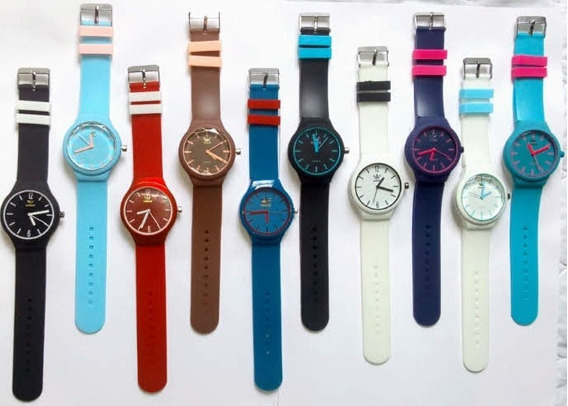 Kit Promocional 20 Relógios De Pulso P/ Revenda Varias Cores