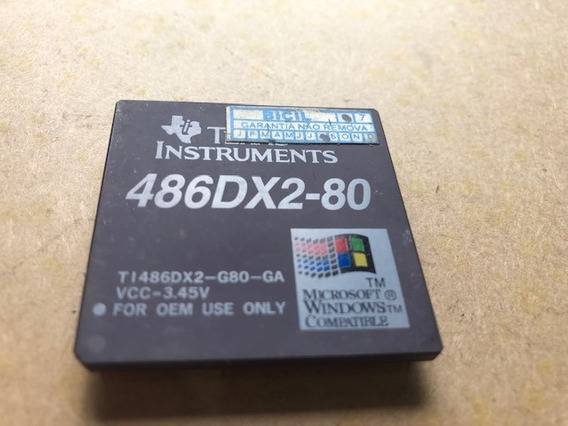 Processador 486 Dx2 80