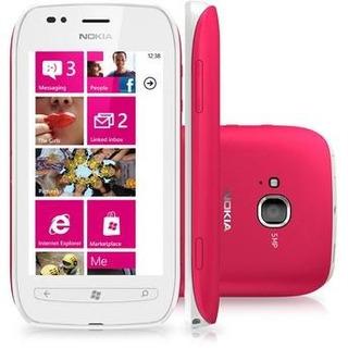 Nokia Lumia 710 - Windows Phone 7.5, 5mp, 8gb, De Vitrine