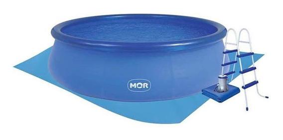 Piscina Splash Fun Mor 9000l, Filtro, Escada Capa Forro 110v
