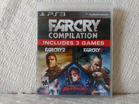Jogo Ps3 Far Cry Compilation Mídia Física Original