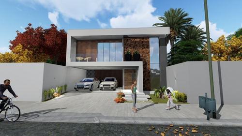 Imagem 1 de 10 de Planta De Casa 3 Quartos - Projeto Arquitetônico Completo