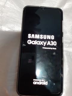 Celular Samsung A 30, Color Blanco Para Repuesto