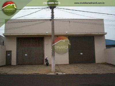Galpão Comercial Para Locação, Jardim Zara, Ribeirão Preto - Ga0210. - Ga0210