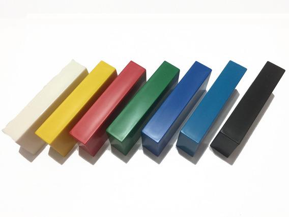 5 Goleiros De Plástico Coloridos - Futebol De Mesa