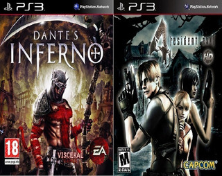 Combo Dantes Inferno Y Resident Evil 4 Ps3 Digital (hen) Pkg