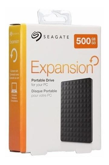 Hd Externo 500gb Seagate Portatil Ps4 Ps3 Xbox 360 Pc Tv .