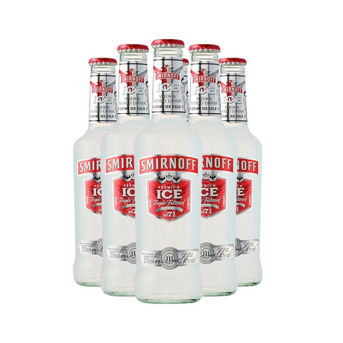 Promo Vodka Smirnoff Ice 275 Ml 6 Unidades