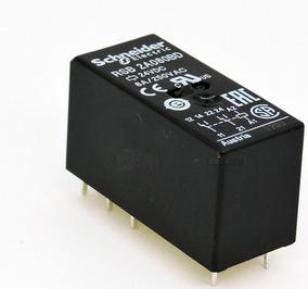 Relé Rsb2a080bd - 24vcc Schneider 2 Contatos Reversíveis