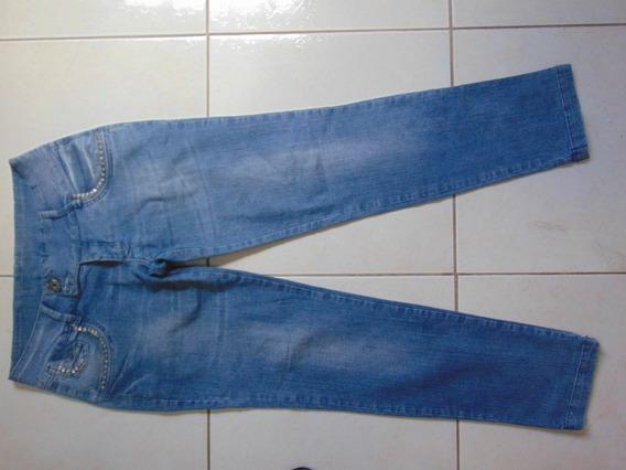 Calça Jeans Feminina Usada Tamanho 44 Semi Nova