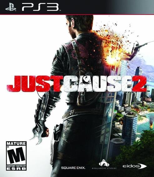 Just Cause 2 Ps3 Psn Inglês Jogo