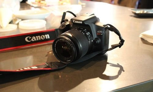Câmara Fotográfica Profissional Canon T6
