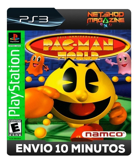 Pac-manworld 20th Anniversary - Psn Ps3 - Envio Imediato