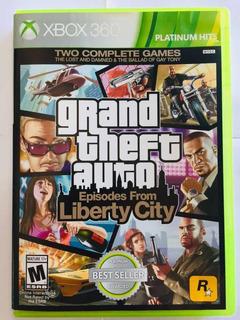 Juego Xbox 360 Gta Liberty City