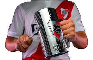 Vaso Guiro River Plate Oficial Guira Vaso 3/4 De Litro