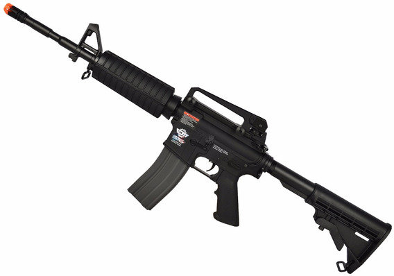 Rifle Airsoft G&g Cm16 Carbine Combo Semi-metal - 350 Fps