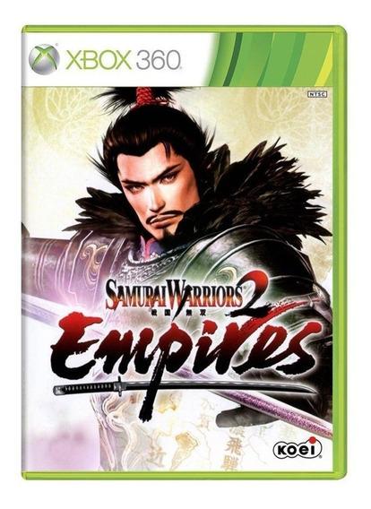 Samurai Warriors 2 Empires Xbox 360 Mídia Física