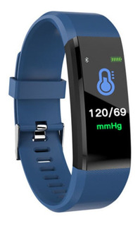 Reloj Inteligente Bluetooth Pulsera De Seguimiento De Fitnes