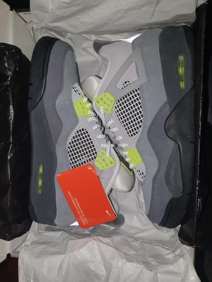 Nike Jordan Retro 4 Neon 9us Therealfrankkickz