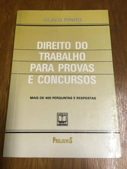Livro: Direito Do Trabalho Para Provas E Concursos Frete 13