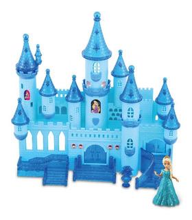 Castillo Encantador Con Luz Y Sonido Estilo De Princesas Ful