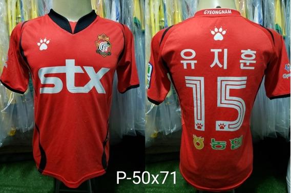 Camisa Gyeongnam Kelme 2010 K-league Time Chinês
