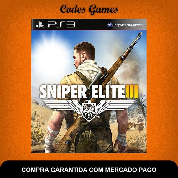Sniper Elite 3 - Português - Ps3 - Pronta Entrega