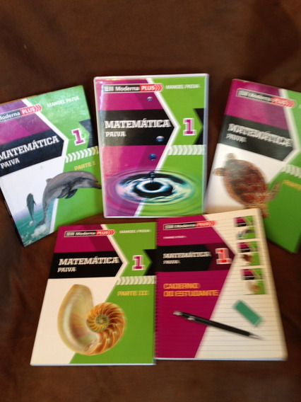Livro Matemática 1 Manoel Paiva 4 Livros