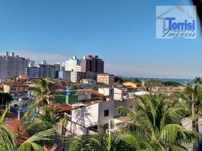 Kitnet Em Praia Grande, 01 Dormitório, Na V. Mirim, Kn0144 - Kn0144