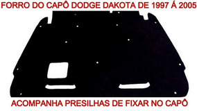 Forro Capô Dakota 1007 Á 2005 Termo Resinado De Betume