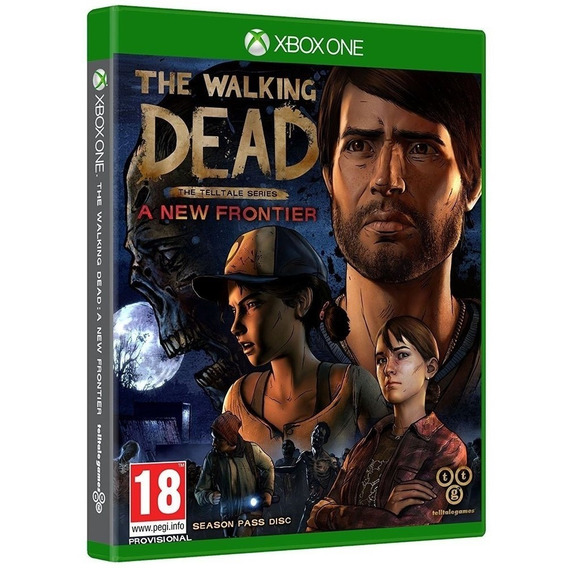 The Walking Dead A New Frontier Xbox One Mídia Física Barato