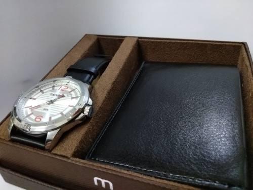 Kit Relógio Masculino Mondaine + Porta Documentos