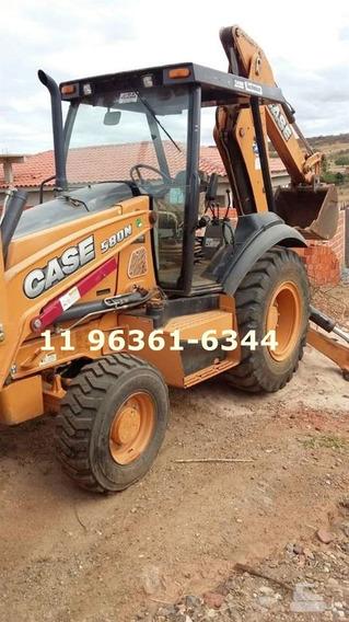 Retroescavadeira Case 580n 2013 4x4