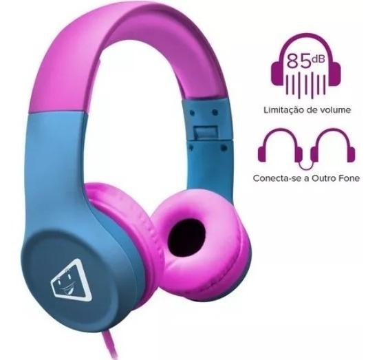 Headphone Stereo Melody Safe Kids Limitador De Volume 85db