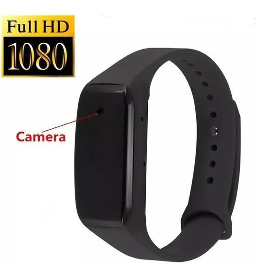 Câmera Espiã 1080p Destacavel Em Bracelete-pulseira