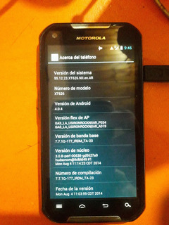Motorola Iron Rock Xt 626