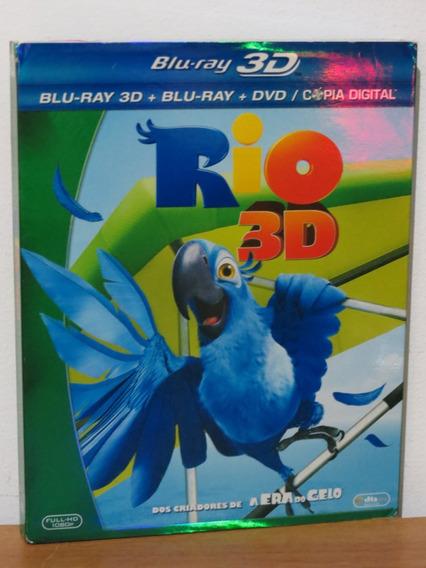 Dvd Blu-ray Rio 3d Original