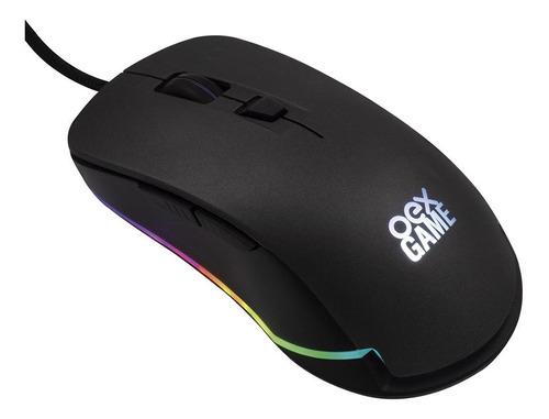 Mouse Gamer Usb, Com Função Rgb Cronos Cinza Ms320 - Oex