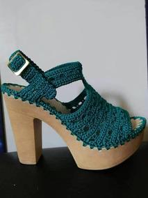 Zapatos Tejidos Para Dama Colección Tacón