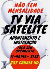 Técnico Antenista Instalação E Apontamento Tv Via Satélite