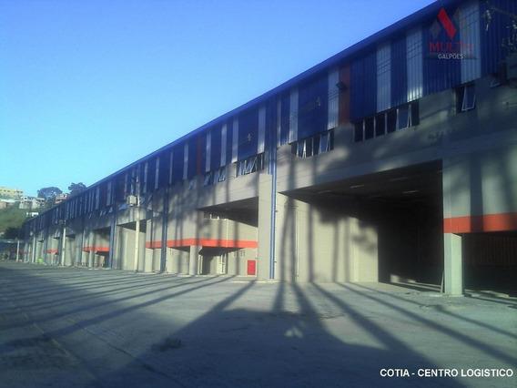 Galpão Industrial Para Locação, Parque Alexandre, Cotia. - Ga0274