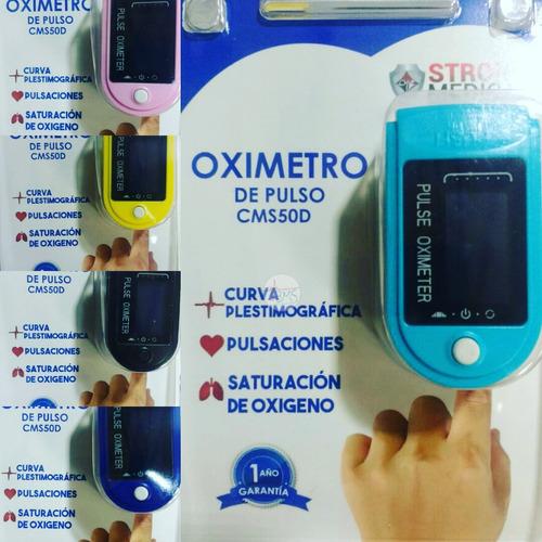 Oximetro De Dedo Adulto/pediatrico Ref: Cms50d Strog Medical