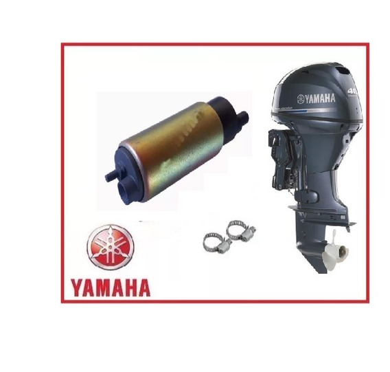 Bomba Combustível Motor Popa Yamaha F-40 Hp 4 Tempos